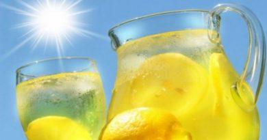 Sirup od limuna za osvježenje